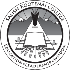 Salish Kootenai College Grayscale Seal