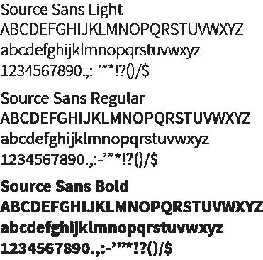 SKC Font Source Sans Pro